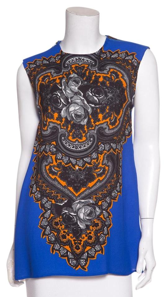 floral print top - Blue Stella McCartney Enjoy Visa Payment For Sale Discount Release Dates Cost Online All Seasons Available Wth6tUETOi