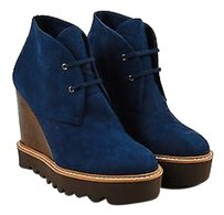 Stella McCartney Blue Brown Blue,Brown,Silver,White Boots