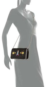 Stella McCartney Faux Leather Beaded Studded Fallabella Cross Body Bag