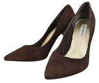Steve Madden Carmila Womens Classic Suede Heels Brown Pumps