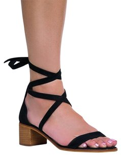 Steve Madden Heels-and-pumps Low Newjul16 Open-toe Black Sandals