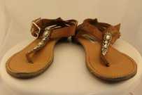 Steve Madden Starrzzz Womens Brown Sandals