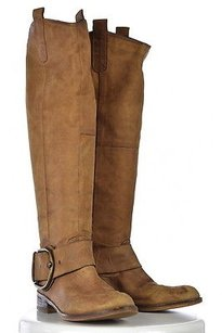 Steven by Steve Madden Womens Tan Boots