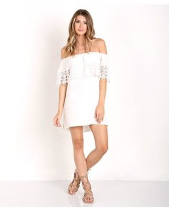 Stone Cold Fox short dress Ivory Tunic on Tradesy