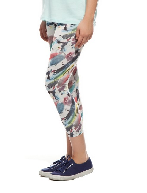 Other Stretchy Comfy breathable ARTSY PRINT PAINT Leggings