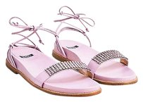 Stuart Weitzman Pink Purple Sandals