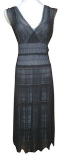 Studio M Ruched Overlay Fitted Dress