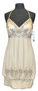 SUE WONG NOCTURNE Beaded Silk Dress