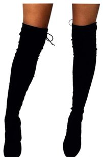 suede knee boots Boots
