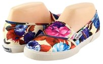 Superga 2210 Cotwflowery Blooming Dale White Multi Designer Loafers Sneakers 5 Multi-Color Athletic
