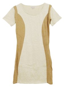 Surface to Air short dress ivory Paneled on Tradesy