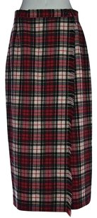 Susan Bristol Womens Skirt Red