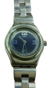 Swatch Swatch Blue silvertone Ladies Watch