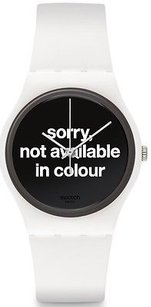 Swatch Swatch Not Available In Colour Unisex Watch Gw165