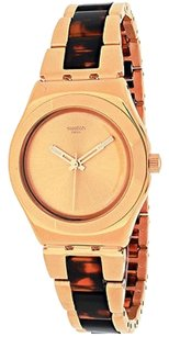 Swatch Swatch Ylg128g Womens Watch Rose Gold -