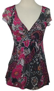 Sweet Pea by Stacy Frati Womens Top Black