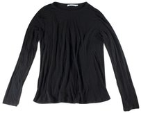 T by Alexander Wang Black Blend Long T Shirt
