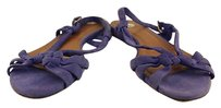 Tabitha Simmons Womens Leather Purple Sandals