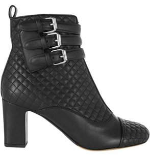 Tabitha Simmons Quilted Leather Black Boots