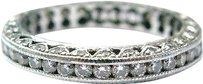Tacori Tacori,Platinum,Classic,Crescent,Diamond,Eternity,Band,Ring,Ht-2229,1.00ct