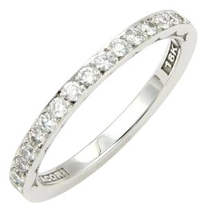 Tacori Tacori 18k White Gold 0.50ct Diamond 2mm Wedding Band - 6.25