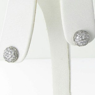 Tacori Tacori Earrings Sonoma Mist Dew Drop Studs 0.80cts Diamonds 925