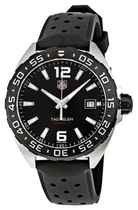 TAG Heuer Formula 1 Black Dial Black Rubber Men's Watch