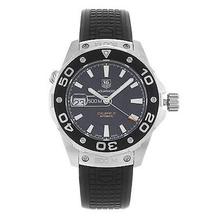 TAG Heuer Tag Heuer Aquaracer 2000 Waj2110.ft6015 Steel Rubber Automatic Mens Watch