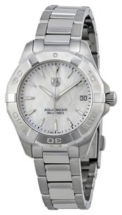 TAG Heuer TAG HEUER Aquaracer White Mother of Pearl Dial Steel Ladies Watch THWAY1312BA0915
