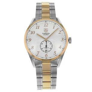 TAG Heuer Tag Heuer Carrera Heritage Was2151.bd0734 18k Rose Gold Steel Mens Watch