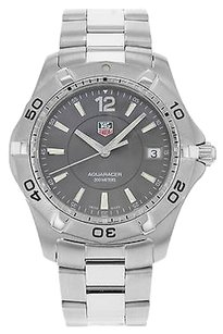 TAG Heuer Tag Heuer Aquaracer Waf111e.ba0801 Stainless Steel Quartz Mens Watch