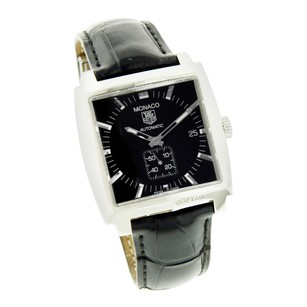 TAG Heuer Tag Heuer Watch Monaco Chronograph Black Dial