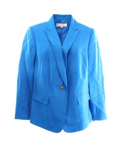 Tahari 5268l123 Color-blue Blazer