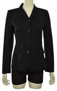 Tahari Womens Basic Navy Jacket