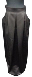 Talbots Polyester Lined Full Length W Pockets Sma6626 Maxi Skirt Black