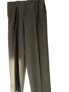Talbots Straight Pants Olive green