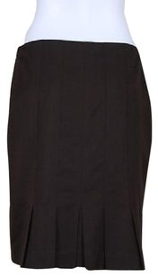 Talbots Petite Womens Skirt Brown