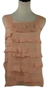 Talbots Womens Shirt Sleeveless 100 Cotton Top Pink