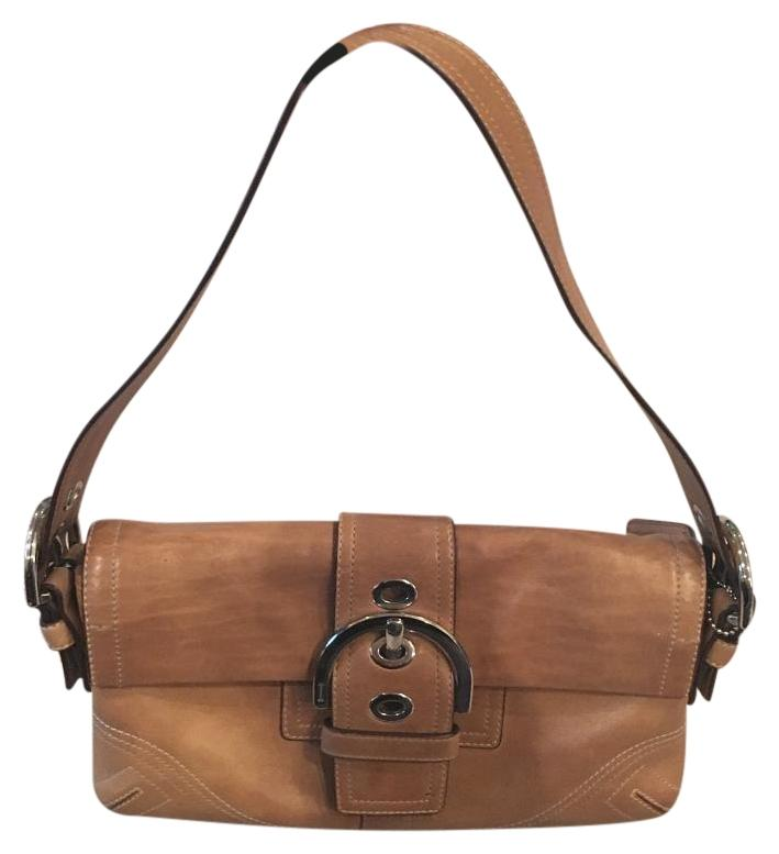 Tan Coach Leather Handbag