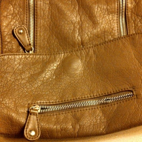 Target Brown Faux Leather Cross Body Bag Tradesy