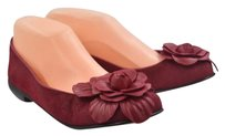 Taryn Rose Womens Red Ballet Red, Black Flats