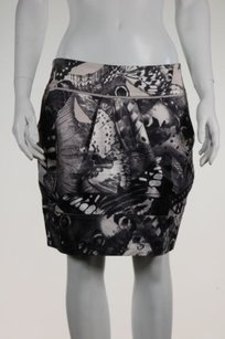 Ted Baker Womens Skirt Taupe / Gray / White