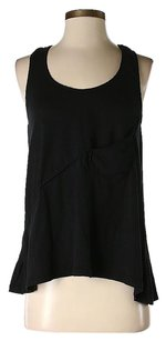 Thakoon Pocket Racer-back Top Black