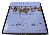 That Wine Is Mine 6 Wine Glass Charms