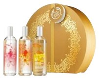 The Body Shop The Body Shop Gift Set Voyage Trio of Japanese Cherry Blossom-Indian Night Jasmine-Madagascan Vanilla Flower Fragrance Mist: Full Size Bottles Gift Boxed
