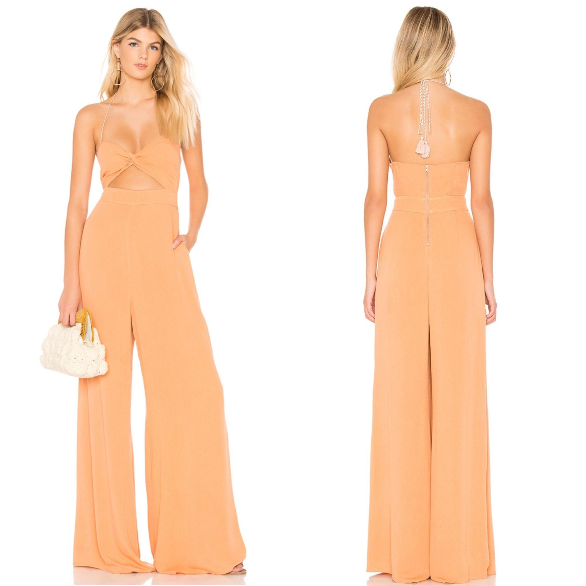 Javasu Midi Dress in Orange. - size S (also in L,M,XS) The Jetset Diaries