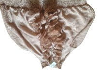 The Limited Brown with flesh tones. Halter Top