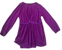 The Limited Vneck Casual Top Purple