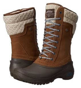 The North Face DESERT BROWN/BALSAM BLUE Boots
