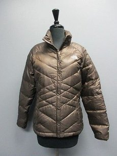 The North Face Long Sleeves Full Zip Solid 1445a Coat